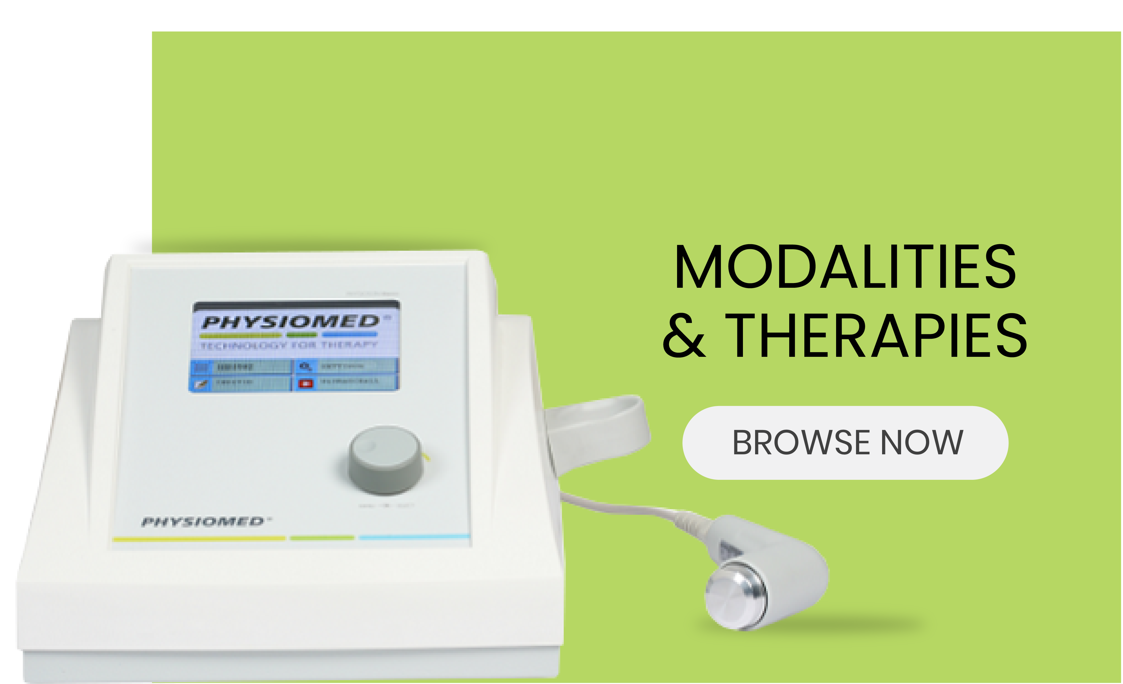 Modalities and Therapies