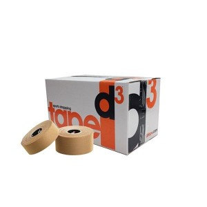 D3 Rigid Tape 38MM X 15M Box of 30 Sports Tape