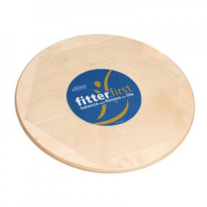 """Fitter First Wobble Board, Moderate, 10 - 15 Degrees, 20"""" circle"""