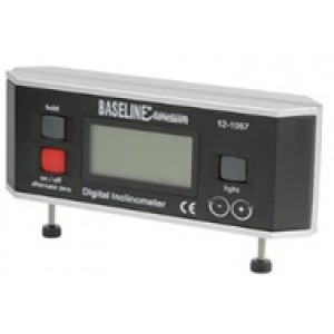 Baseline Digital Inclinometer with fixed feet