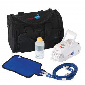 Kinetec Kooler Start Up Kit (Kooler Pump, Universal Pad, Sports Bag, Instant Cold Packs x5, Hot and Cold Gel Packs x2)