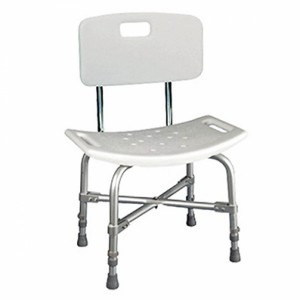 Shower Bench with Height Adjustment (with backrest)