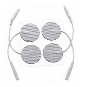 Hercusense TENS / EMS / IFT Electrode Pads Circle Shaped - 22 x 22 mm (50 pcs)