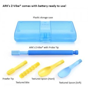 ARK's Z-Vibe Travel Kit (5 Tips With Case)