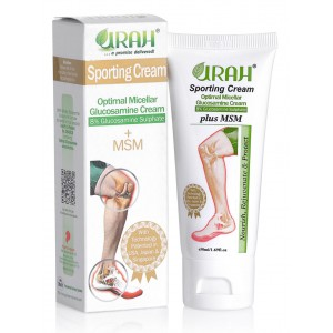 URAH Sporting Cream - Glucosamine Cream + MSM For Joint Pain Relief and Repair